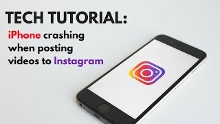 How to Fix an iPhone Crashing When Posting to Instagram Stories