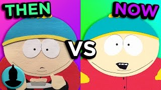 South Park - Then VS. Now - Evolution of South Park (Tooned Up S3 E33)