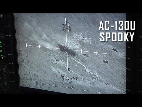 AC-130 Gunship Firing - Spooky in Action
