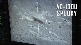 AC-130 Gunship Firing - Spooky in Action