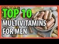 ⭐️✔️ 10 Best Multivitamins For Men 2019 👍🏻⭐️