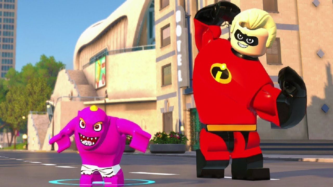 LEGO The Incredibles - Open World Free Roam - City Park Crime Wave Completed