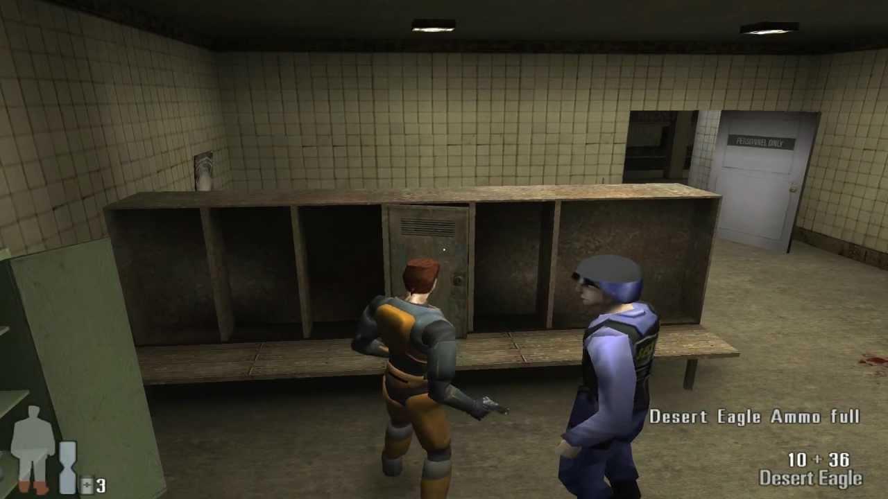 Half Life Meets Max Payne