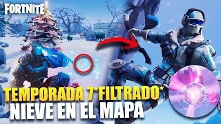 *SEASON 7 FILTRATED* NEW SECRETS AND THEORIES *SNOW IN THE MAP* FORTNITE BATTLE ROYALE