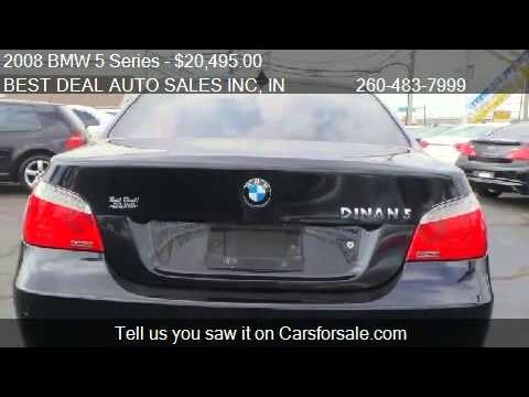 2008 BMW 5 Series 550i Dinan S Luxury for sale in Fort Wayne - YouTube