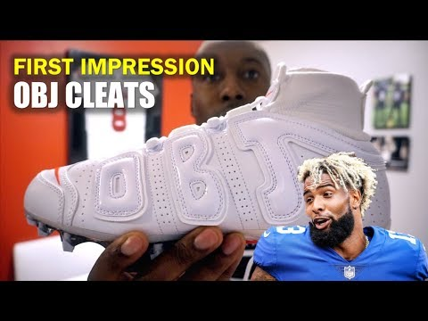 OBJ Football Cleat (Uptempo Cleat): First Impression