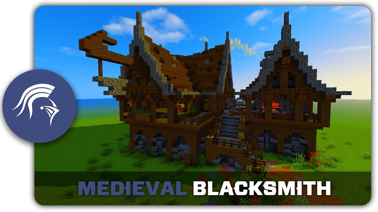 minecraft tutorial how to build a medieval castle