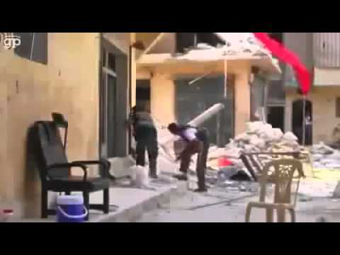 18+ Syrian army Tank direct hit and kill Syrian rebels hold