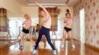 30phut Aerobic giảm cân nhanh trong 3ngày ( bài 6)