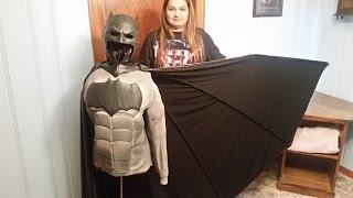 DIY Batman V Superman Costume part 8: Making the Cape.
