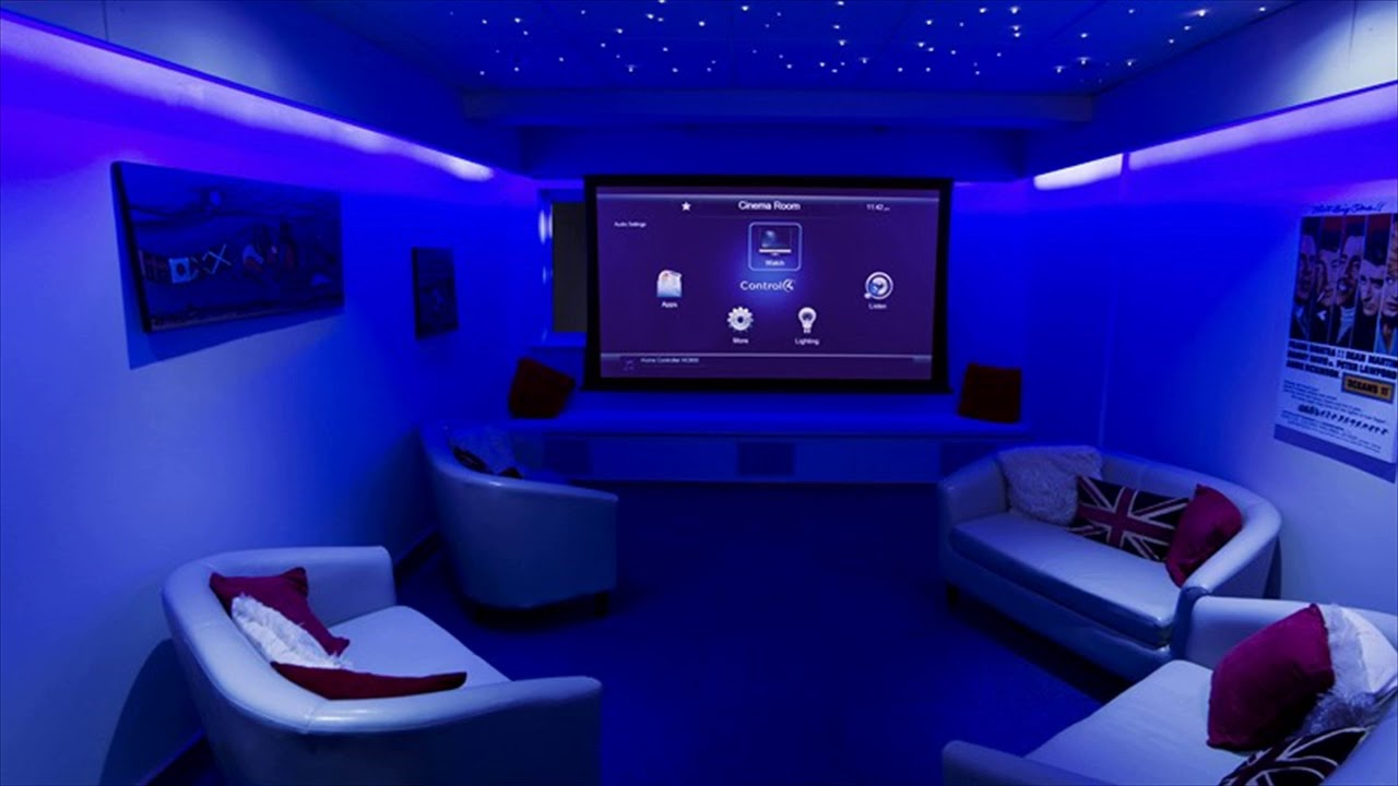 Led Ceiling Lights Ideas Home Theater
