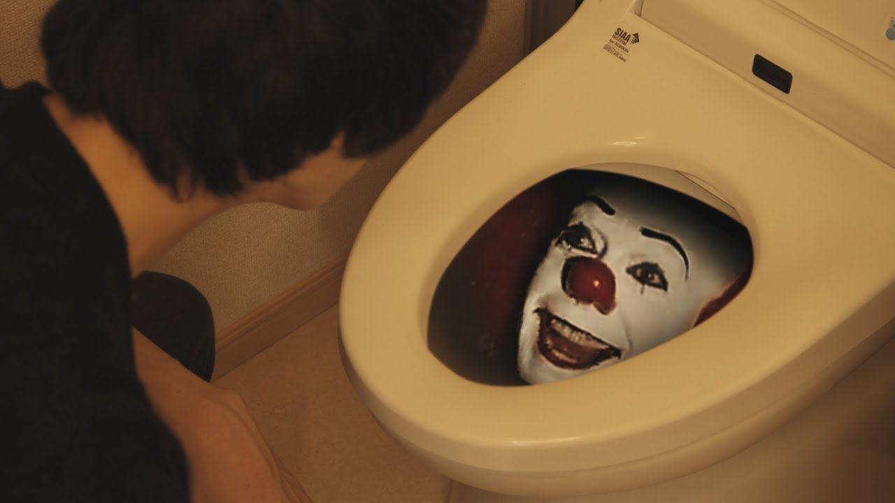Download WTF!? Who is in the TOILET!? | IT Pennywise | RATE