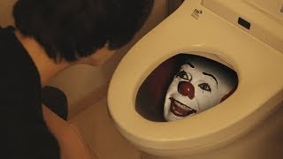 WTF!? Who is in the TOILET!? | IT Pennywise | RATE