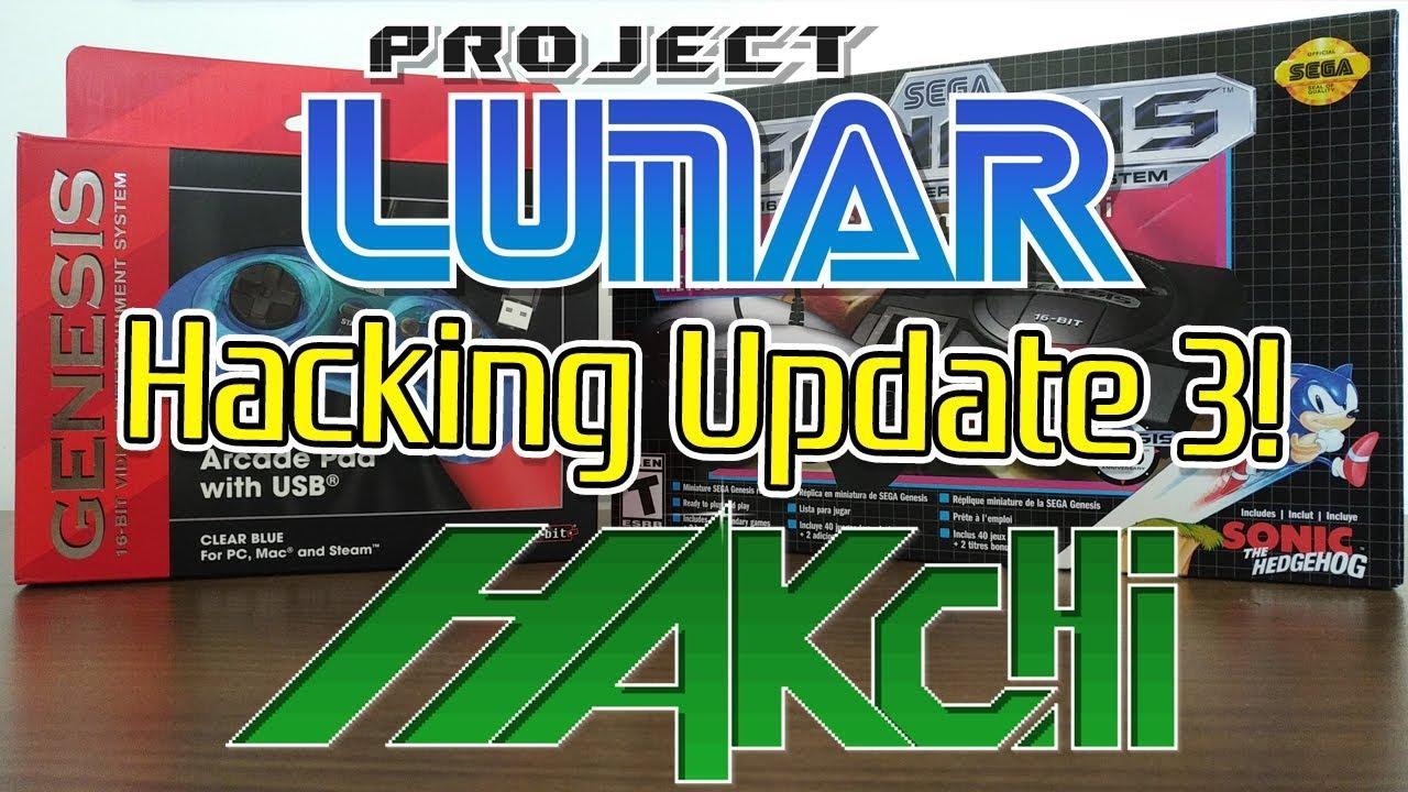 Sega Genesis Mini Hack Update 3 Hakchi And Project Lunar Info Youtube