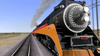 Railworks 2 Gameplay {HD}- SP 4449 Daylight Express Feat. N.W.A.