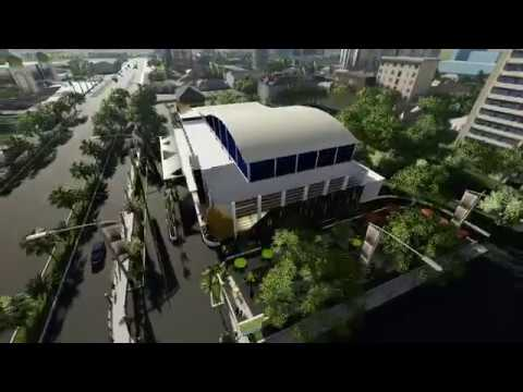 CONVENTION CENTRE ARCHITECTURE DESIGN - 3D DESIGN & ANIMATION