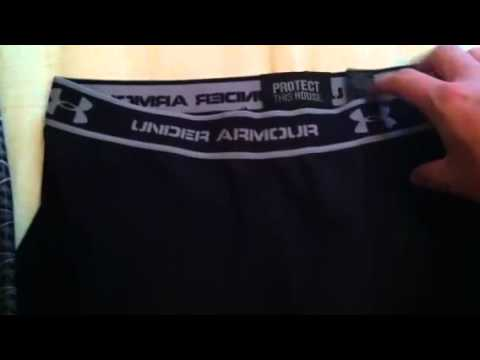 0801827c58e65 Under Armour Compression Shorts Review - YouTube