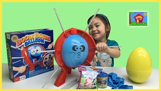 Boom Boom Balloon Kids Game w/ Sofia the First and My Little Pony Toys