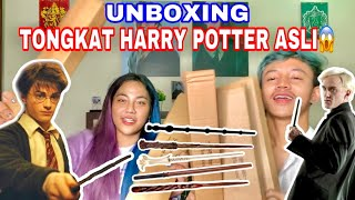 UNBOXING TONGKAT HARRY POTTER ASLI DARI LONDON! | Syella Angelia