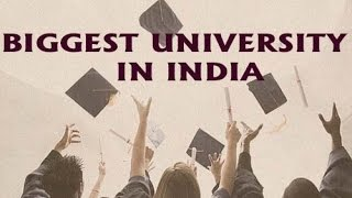 Top10 India's Biggest Universities by Campus Size 2016-17