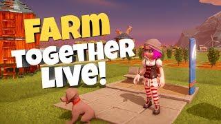 WYJECHAŁAM W BIESZCZADY LIVE????  FARM TOGETHER????  - Na żywo