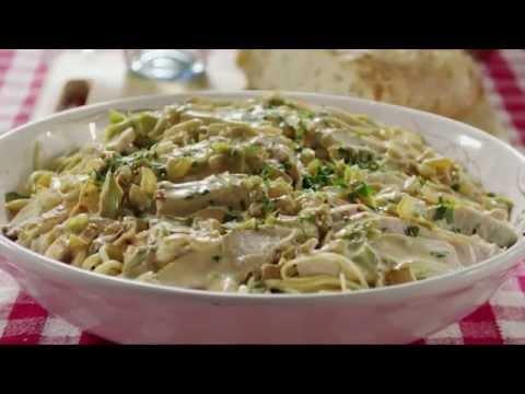 How to Make Creamy Chicken on Linguine | Chicken Recipes | Allrecipes.com