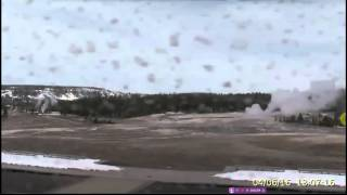 MORE BLACK SUBSTANCE ON CAM @ YELLOWSTONE/GOLD COLOR