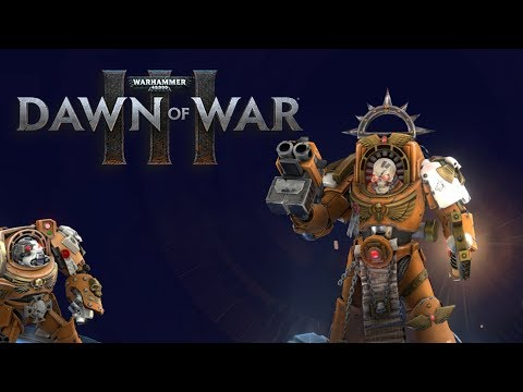 Dawn of War 3 -  Eldar and Empire Hold off the Ork's (Testing Multiplayer Updates)