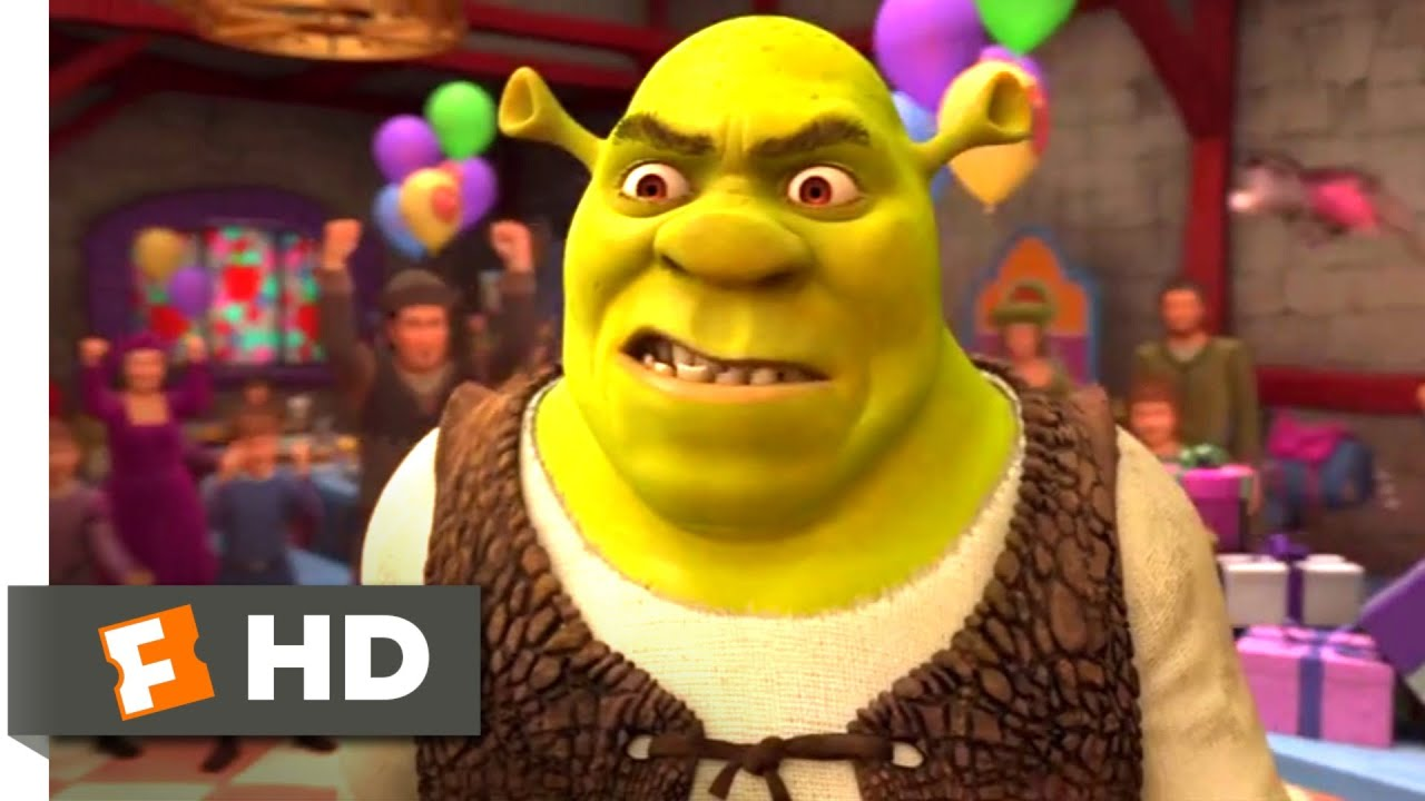 Shrek Forever After 2010 Featured Animation