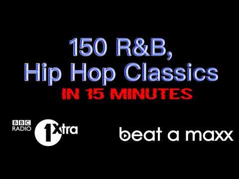 150 RnB & Hip Hop Classics in 15 minutes!!