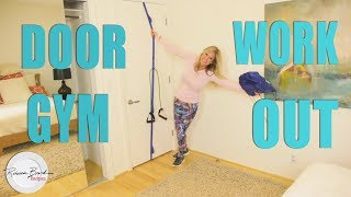 How to Use a Door Gym with Exercise Bands |  Bandbuddy Review