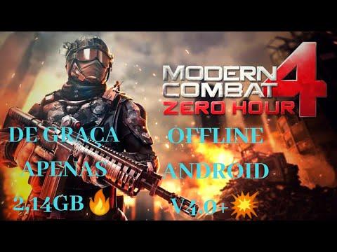 Como baixar modern combat 4 para Android apk+obb via Mediafire