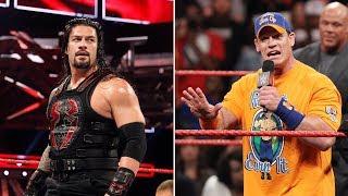 John Cena and Roman Reigns got brutally honest and we're still stunned