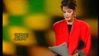 ZDF Programmansage Sibylle Nicolai 21.05.1988 Nobody
