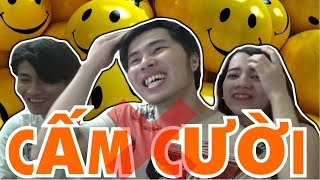 THỬ THÁCH CẤM CƯỜI ( Laughing Challege Skype ) | 360hot REN Vlogs