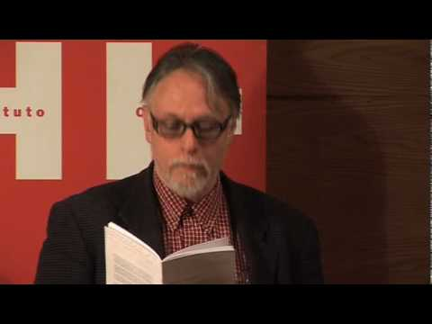 David Huerta and Jamie McKendrick read 'Heaven's Kitchen' - Media - Poetry Translation Centre.flv
