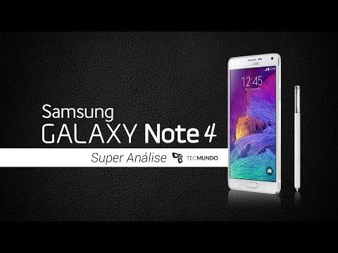 Samsung Galaxy Note 4 [Análise] - TecMundo