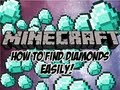 Minecraft How To: - Find Diamonds extremely fast!