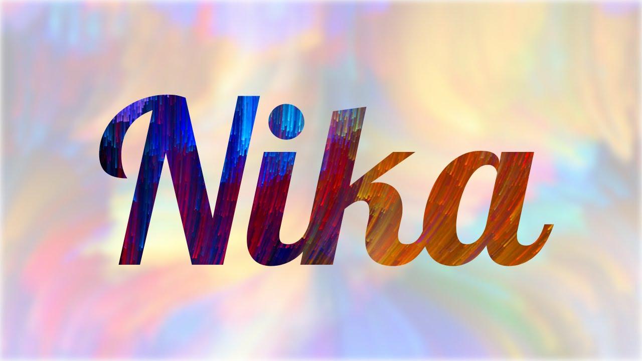 Borrar Historiador arco  Significado de Nika, nombre Ruso para tu bebe (origen y personalidad) -  YouTube