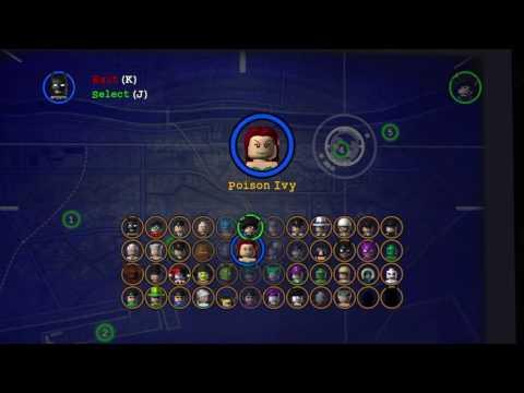 LEGO Batman: The Video Game | All Unlockable Characters