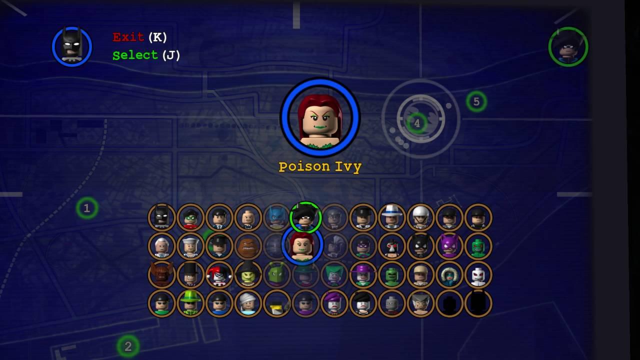 LEGO Batman: The Video Game | All Unlockable Characters ...
