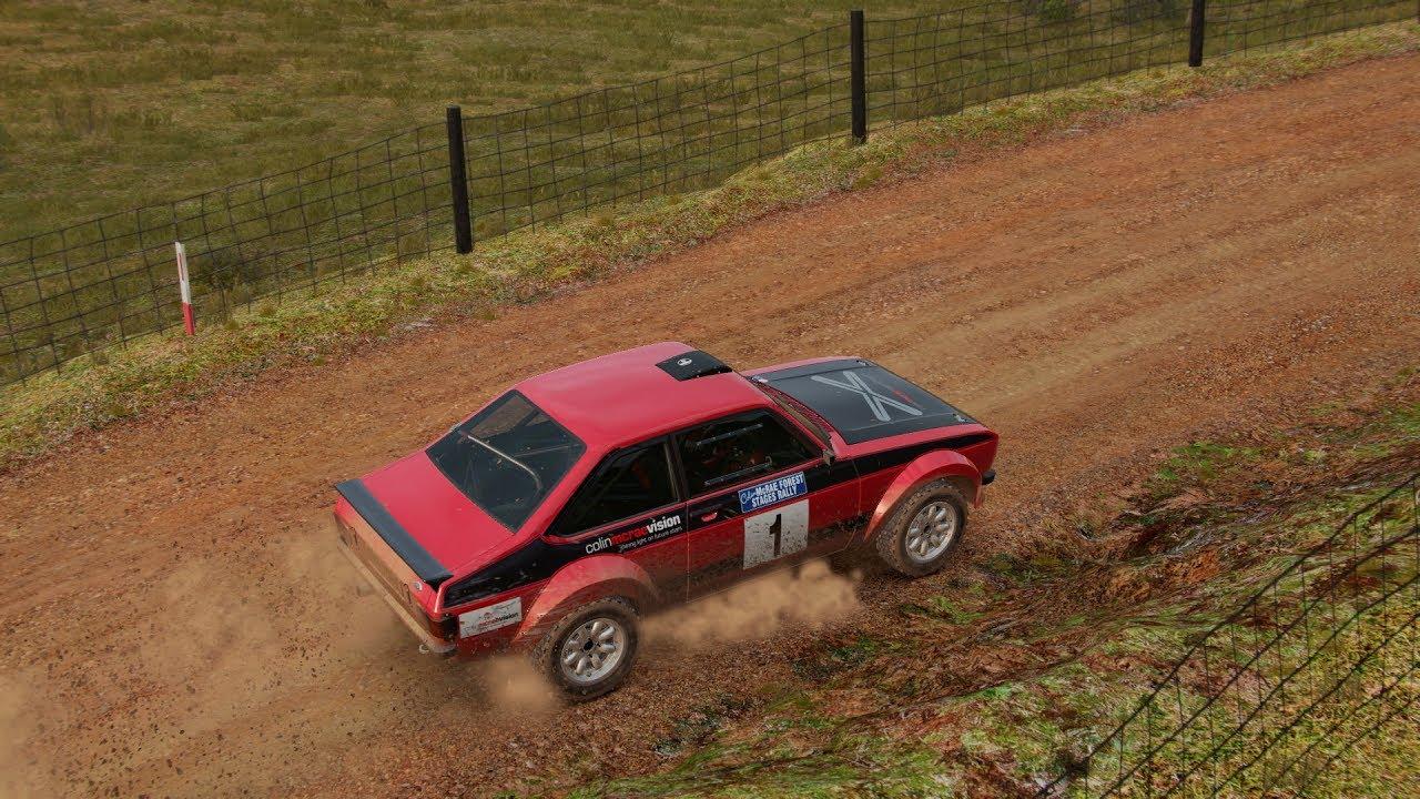 DiRT 4 - Ford Escort Mk2 - Australia, daily 1