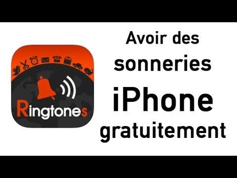 télécharger des sonneries iphone gratuitement