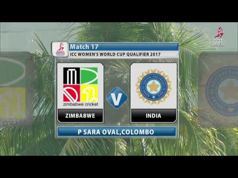 Zimbabwe v India, ICC Women's World Cup Qualifier, 2017