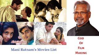 Mani Ratnam's All Movies List | God Of Film Maker