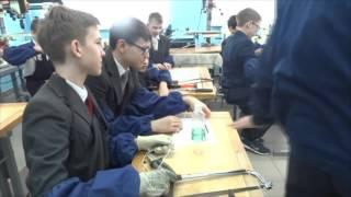 Урок технологии 7 класс Художественная обработка металла (ажурная скульптура)