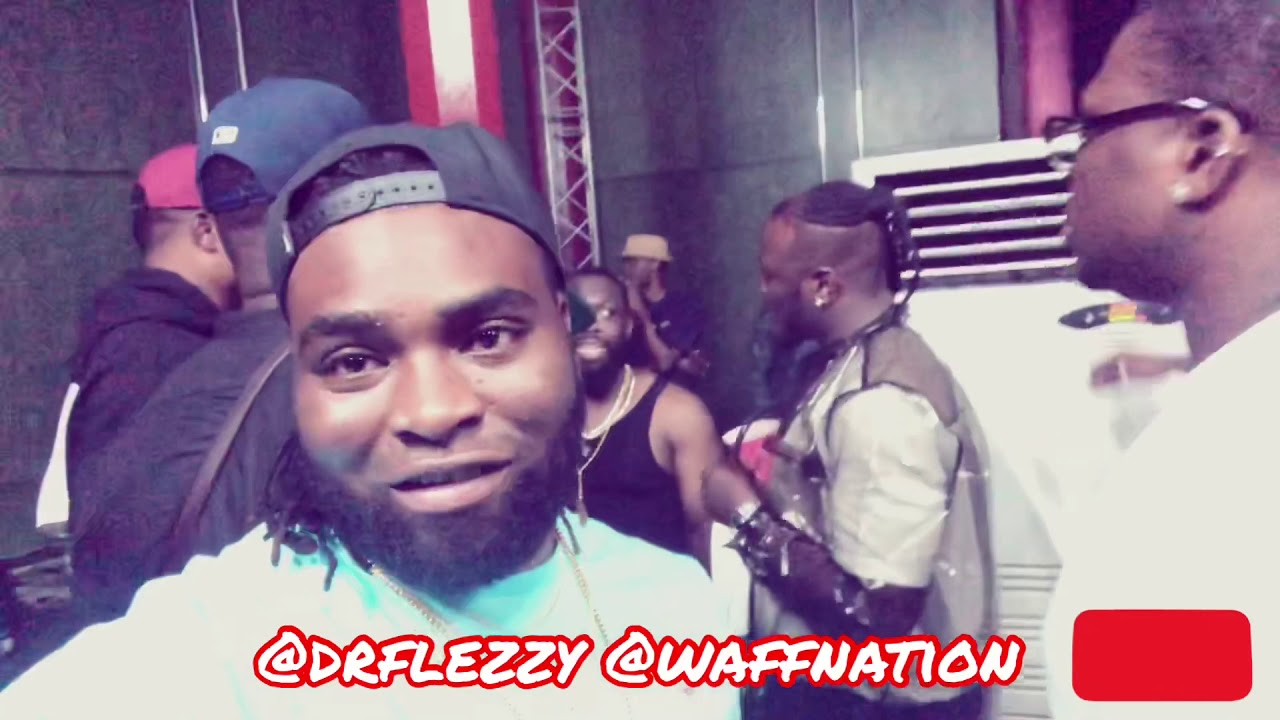 Timaya Light Weed BackStage, Dr.Flezzy Open for 2Baba 20 Years A King Concert Live in Abuja, Nigeria