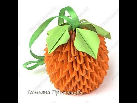 Апельсин из модулей Страна Мастеров