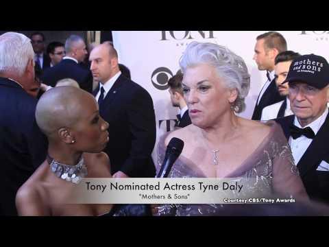 Tanisha LaVerne Grant Interviews Tyne Daly