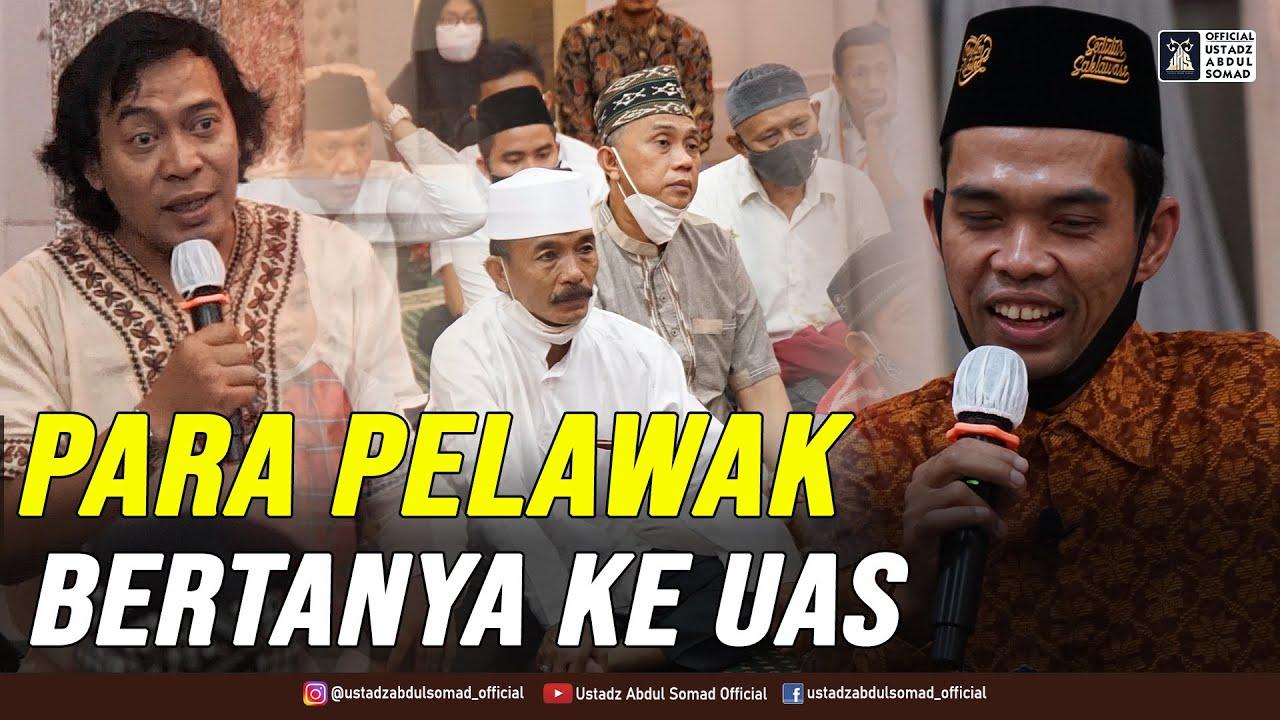 Download INI PERTANYAAN PARA PELAWAK KEPADA UAS | Tanya Jawab Kajian bersama Pelawak Indonesia | 16.1.2021